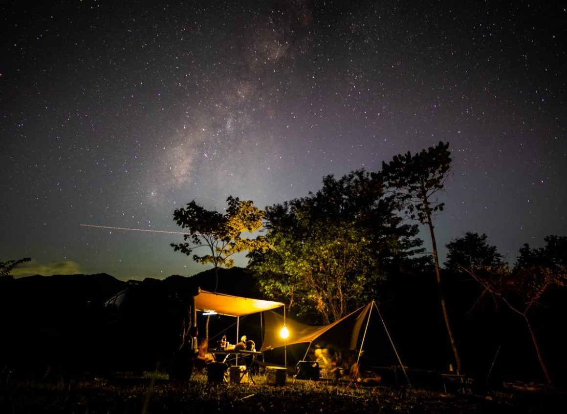 Milky Way Photography Tanay Campsite