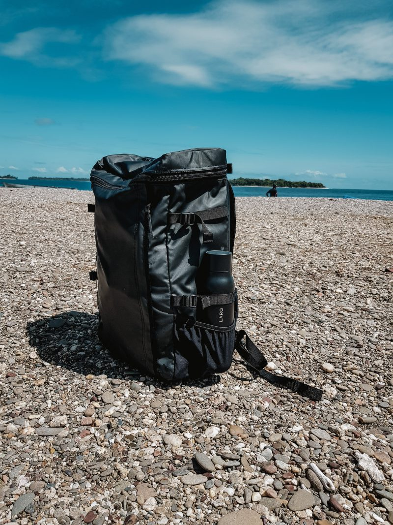 beach camping tip bring a durable waterproof bag