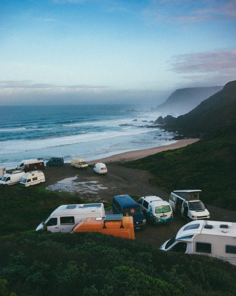 beack camping tip park away from the sand
