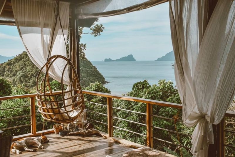 the birdhouse campsite in el nido palawan