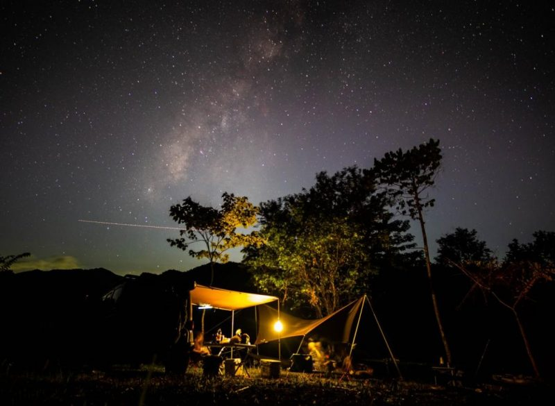 romantic campsite in the philippines wk forest reserve and campground