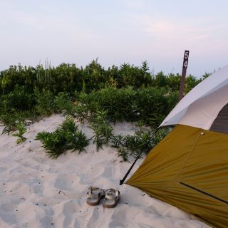how to prepare for a beach camping trip